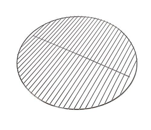 Kenley Grillrost Verchromt Stahldraht für Holzkohlegrill Gasgrill - Rund - Diameter 545cm