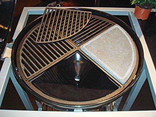 BBQ-Profi CIG 60 Vierteiliger Grillrost für 60 cm Grills aus Gusseisen