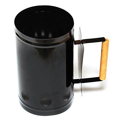 Enders Kohlestarter 8750 BBQ Grill Kohle-Anzünder Anzündkamin für Holzkohle Briketts mit Griff