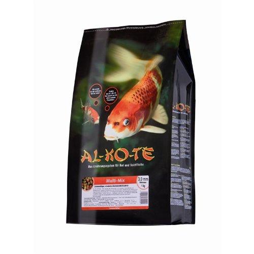 Fischfutter Teichfutter AL-KO-TE Multi-Mix 3 mm Pellets 1 kg High-Premium