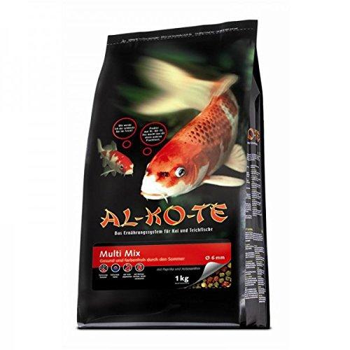 Fischfutter Teichfutter AL-KO-TE Multi-Mix 6 mm Pellets 1 kg High Premium
