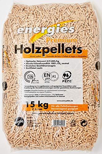 Premium Pellets Heizpellets 15kg Säcke