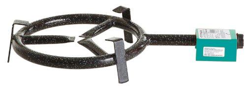 Paella-Gasbrenner 1-Brennring Ø 30 cm  Leistung 65 kW bei 30 mbar Ideal für Paella Pfannen Paella Grill Gussgrillplatten Woks Töpfe usw
