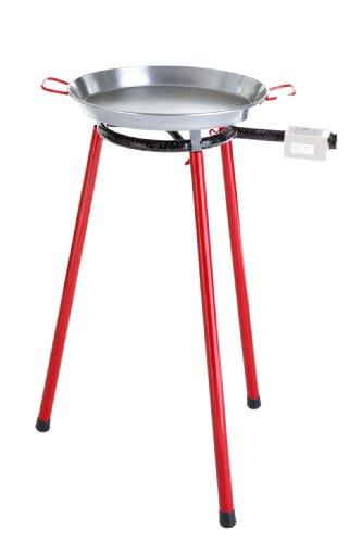 Paella World International Paella-Grill-Set Light klein Mehrfarbig 3-teilig