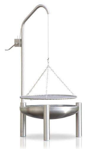 Edelstahl Grill Ø 70 cm RICON deutsche Herstellung
