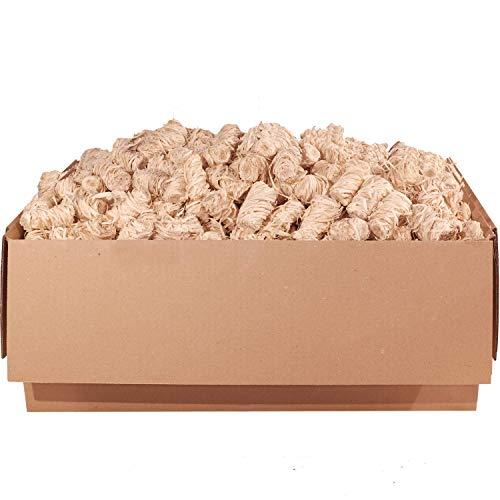 ORANGE DEAL 50 kg Kamin- und Grill-Anzünder Ofenanzünder Anzündwolle Anzündhilfe aus Premium Holzwolle und Wachs - schnell und stark