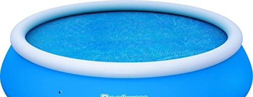 Bestway Solarabdeckplane Ø3 m für Fast Set Pool Ø366 cm