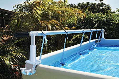 Poolomio Aufrollvorrichtung für Aufstellpools Pool-Aufroller für Solarplanen