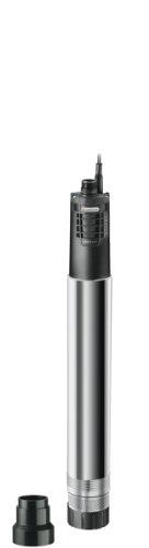 GARDENA Premium Tiefbrunnenpumpe 60005 inox automatic Brunnenpumpe mit 6000 lh Fördermenge aus rostfreiem Edelstahl automatische Tauchpumpe mit integrierter Trockenlaufsicherung 1499-20
