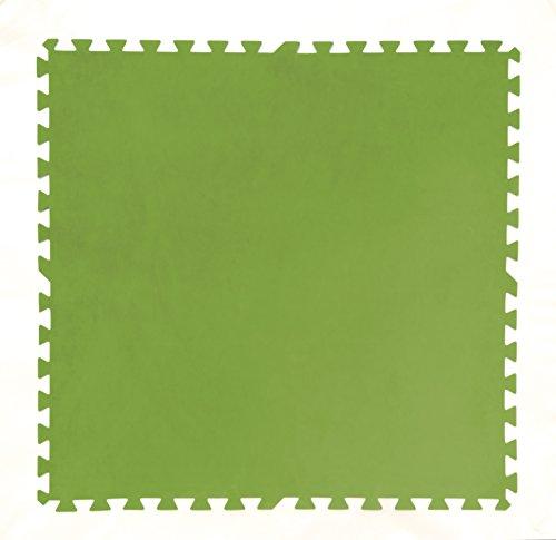 Bestway Flowclear Pool-Bodenschutzfliesen-Set 8 Stück á 81 x 81 cm grün