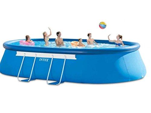 Intex 28194 Oval Quick Up Pool 610 x 366 x 122 cm