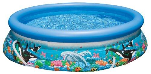 Intex Easy Set Aufstellpool Ocean Reef mit Pumpe  mehrfarbig Ø 305 x 76 cm