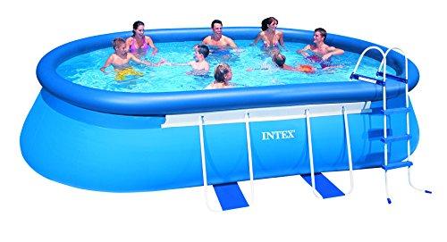 Intex Frame Pool Set blau 549 x 305 x 107cm