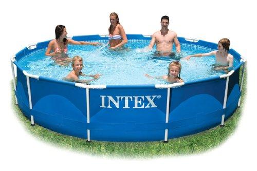Intex Poolumrandung 305 cm Durchmesser x 762 cm tief ohne Filterpumpe Nr 28200