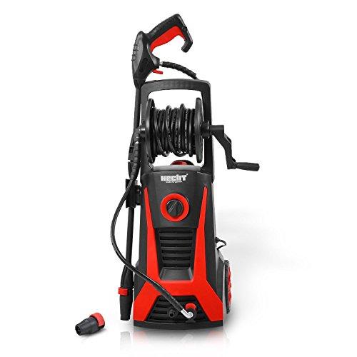 HECHT Elektro-Hochdruckreiniger 323 Hochdruck-Spritzgerät 2200 Watt inkl Düse für Punkt- und Breitstrahl