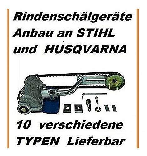 Komplettes Schälgerät Entrindungsgerät zum Anbau an Stihl 026 MS 260 261 271 291