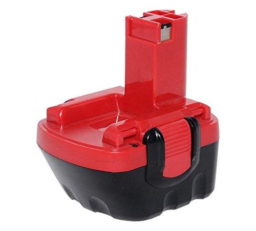 Sila Profi-Akku 111 Werkzeugakku Ersatzakku für Bosch GSR 12V - 12 Volt - 2000mAh - Ni-MH - Bauähnlich 2607335273  2607335374  2607335375  2607335261  2607335262  2607335429