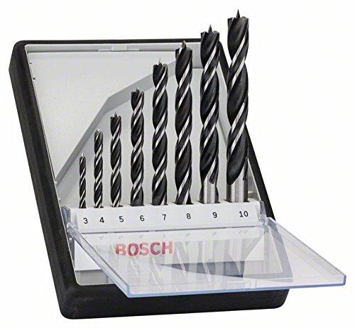 Bosch Pro 8tlg Robust Line Holzspiralbohrer-Set