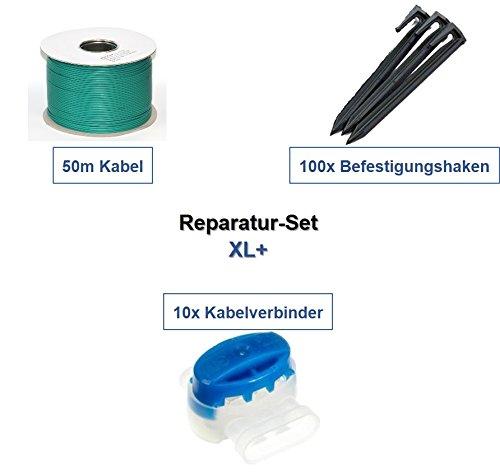 genisys Reparatur-Set XL Bosch Indego 1000 1200 1300 Connect Kabel Haken Verbinder Paket