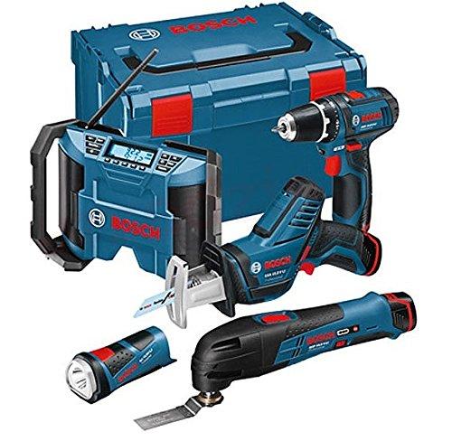 Bosch 0615990GF0 Akkuset 108V GSRGMLGOPGSAGLI-3 X 20 Ah L-BOXX 200 W 240 V