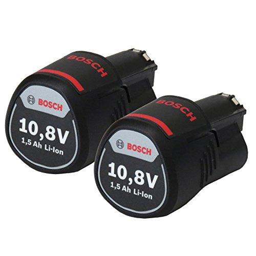 Bosch NEW Akku Powerpack 2x Ersatzakku 108V 15Ah Li-Ion GSR GDR GOP GWI GSA GLI GSB GWB