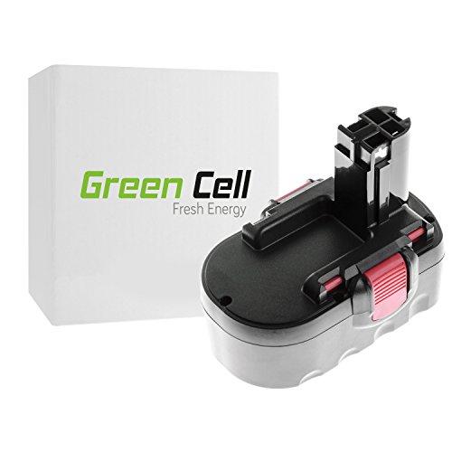 Green Cell Werkzeug Akku für Bosch GSA 18 VE Ni-MH Zellen 3 Ah 18V