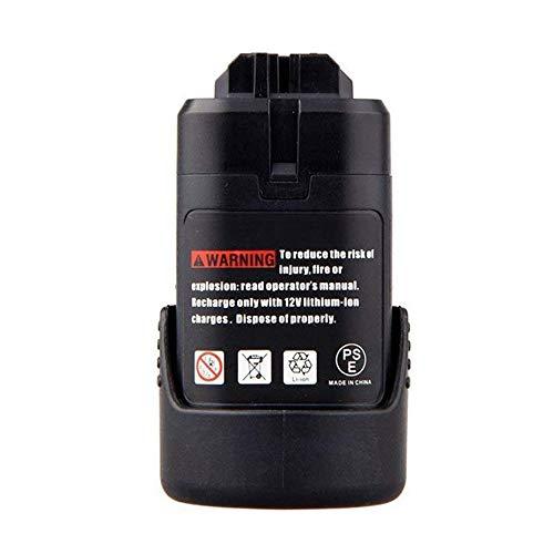 Powayup GBA 108 V 20 Ah Ersatzakku für Bosch Akku BAT411 BAT412A 2607336013 2607336014 2607336879 2607336880 Lithium-Ion