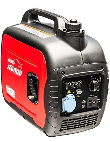 AL-KO Stromerzeuger 2000i 16 kW Motorleistung 79 ccm Hubraum 4-Takt 5 Stunden Laufzeit max 4 L Tankinhalt 21 kg Gewicht 64 dBA leise Notstromaggregat bei Stromausfall