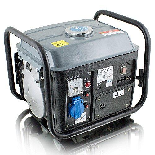 BITUXX 850W Benzin Notstromaggregat Stromgenerator Stromerzeuger Stromaggregat Notstrom Generator