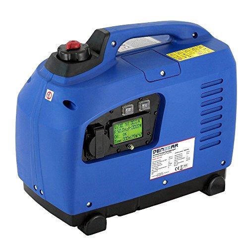 DENQBAR 12 kW Inverter Stromerzeuger Notstromaggregat Stromaggregat Digitaler Generator benzinbetrieben DQ1200