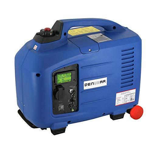 DENQBAR 28 kW Inverter Stromerzeuger Notstromaggregat Stromaggregat Digitaler Generator benzinbetrieben DQ2800E mit E-Start