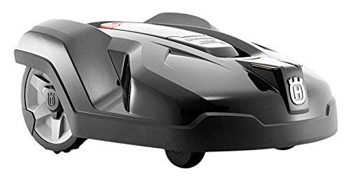 Husqvarna Automower 420 Mähroboter 3 frei schwingende Messerklingen 19 Tasten Timer 58 dBA Granitgrau