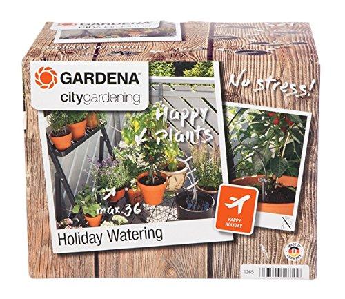 GARDENA city gardening Urlaubsbewässerung Pflanzenbewässerungs-Set für drinnen und draußen individuelle Bewässerung von bis zu 36 Pflanzen 1265-20