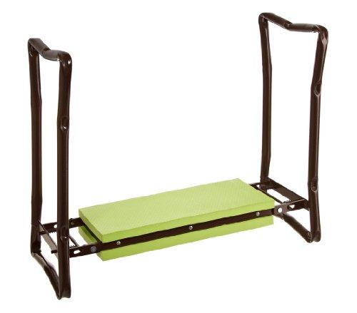 Dehner Knie- und Sitzhilfe für Arbeiten rund um Haus und Garten ca 625 x 13 x 27 cm grün