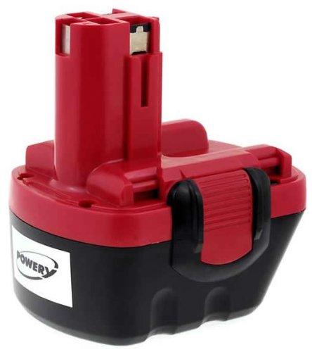 Akku für Bosch BohrschrauberAkkuschrauber PSR12VE-2  GSB 12VE-2  NiMH-Technologie  Spannung 12V  Kapazität 2000mAh  hochwertiges Gehäuse  frische Akkuzellen