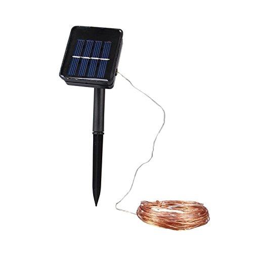 Kohree 120 LEDs Solar Lichterkette Außenlichterkette Weihnachtsbeleuchtung für Outdoor Garten Haus Weihnachtsfest Hochzeit