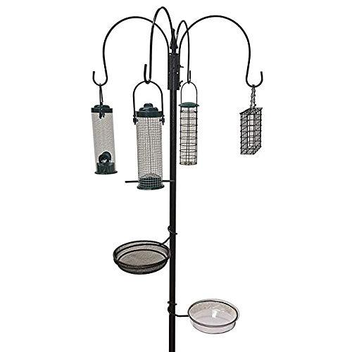 Elito Home Garden Luxus Wild Vogel Futterstation Futterhaus Tisch Seed Tablett Neu