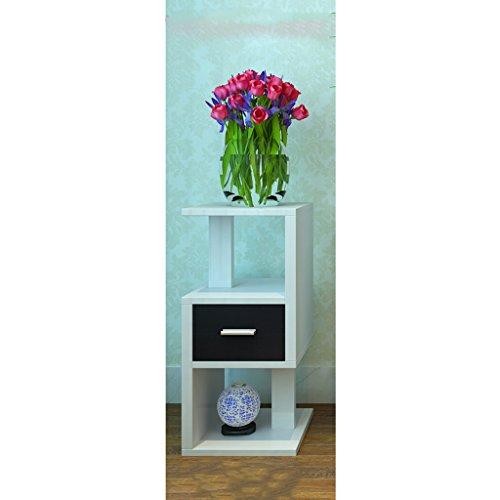 Mehrstöckige Wohnzimmer Echtholz Blume Rahmen Balkon Hängende Orchidee Töpfe Indoor Grün Rettich Erdboden Regal  größe  282856cm