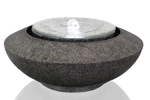 Arnusa Springbrunnen Mirror mit LED Beleuchtung Zimmerbrunnen Design Brunnen