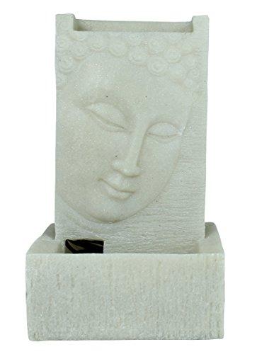 Zimmerbrunnen LED-Beleuchtung Wasserlauf Feng Shui Brunnen Buddha Wohnzimmerbrunnen