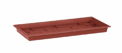 Emsa 504188 Pflanztroguntersetzer eckig 57 x 27 cm terracotta TERRA GRANDE