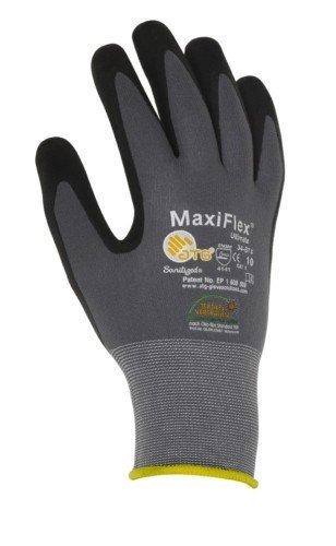 1 Paar MaxiFlex Plus Montagehandschuhe mit Noppen Arbeitshandschuhe Handschuhe Endurance XL