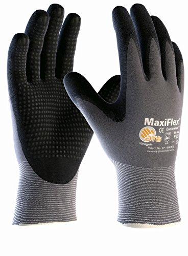 5er Pack MaxiFlex Endurance Arbeitshandschuh mit Noppen Montagehandschuhe Größe 12 XXXL