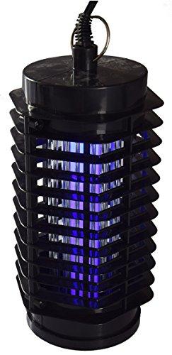 ChiliTec LED UV Insektenvernichter 30m² Insektenlampe InsektenschutzI I 15m Kabel I Sommer Garten Balkon Terrasse I Anti Mücken 1 Watt mit Aufhänger