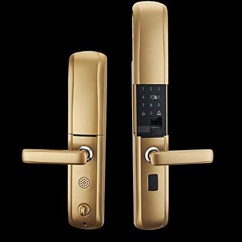 Lxj Fingerabdruck Schloss Smart Passwort Sperren elektronische Sperre große Tür Türschloss Home