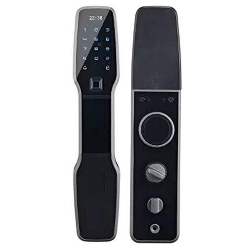 Lxj Fingerprint Türschloss Halbleiter Fingerabdruck Schloss Haussicherheit Tür elektronische Sperre wischen smart Passwortschutz