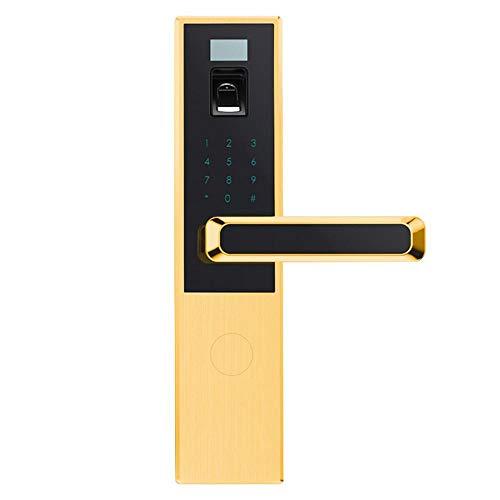 Lxj Fingerprint Türschloss Smart Lock Home Diebstahlsicherung elektronisches Codeschloss
