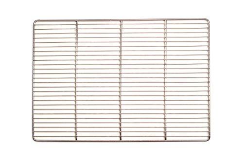 PG Metalltechnik Edelstahl-Grillrost 50 x 35 cm …