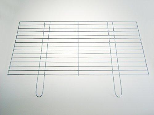 Grillrost 100x50cm - Auflagestäbe Ø 4mm - stabile schwere Ausführung mit zwei Handgriffen