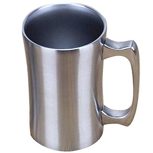 OrgMemory Kaffeebecher Thermobecher mit Deckel 560 ml Vakuum Isolierbecher aus Edelstahl für kalt und warm